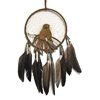 Dream Catcher with pouch (brown)